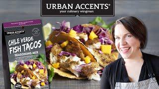 Restaurant-style Fish Taco Feast   Cook School   Urban Accents Seasoning