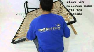classic flat packed wall bed assembly instructions