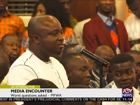Media Encounter: Best And Worst Questions At Programme - Joy News Interactive (18-1-18)