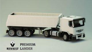 Lego Renault Premium Lander Dump Truck