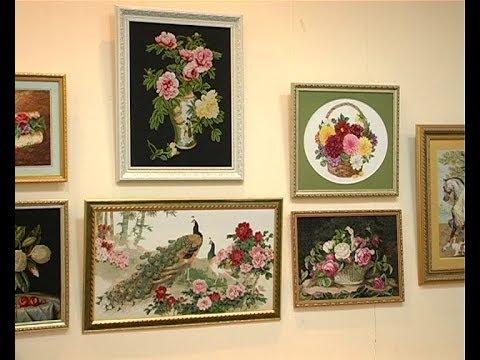 Вишиті картини Світлани Лазебної - YouTube 2f190ad51911c
