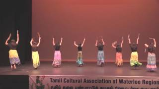TCA Cultural Nite 2016 - Act 11 Waterloo University Indian Connection
