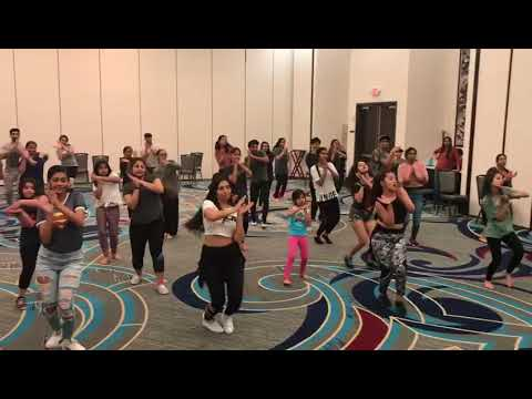 DHARMESH SIR  DANCE WORKSHOP 2018 ANAND ENTERTAINMENT SONG BOM DIGGY BY ZACK KNIGHT/JASMEEN WALIA