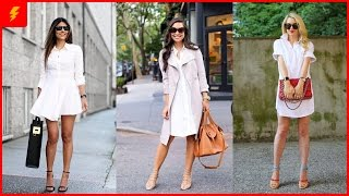 White Shirt Dresses – Another Huge Fashion Trend You Should Follow