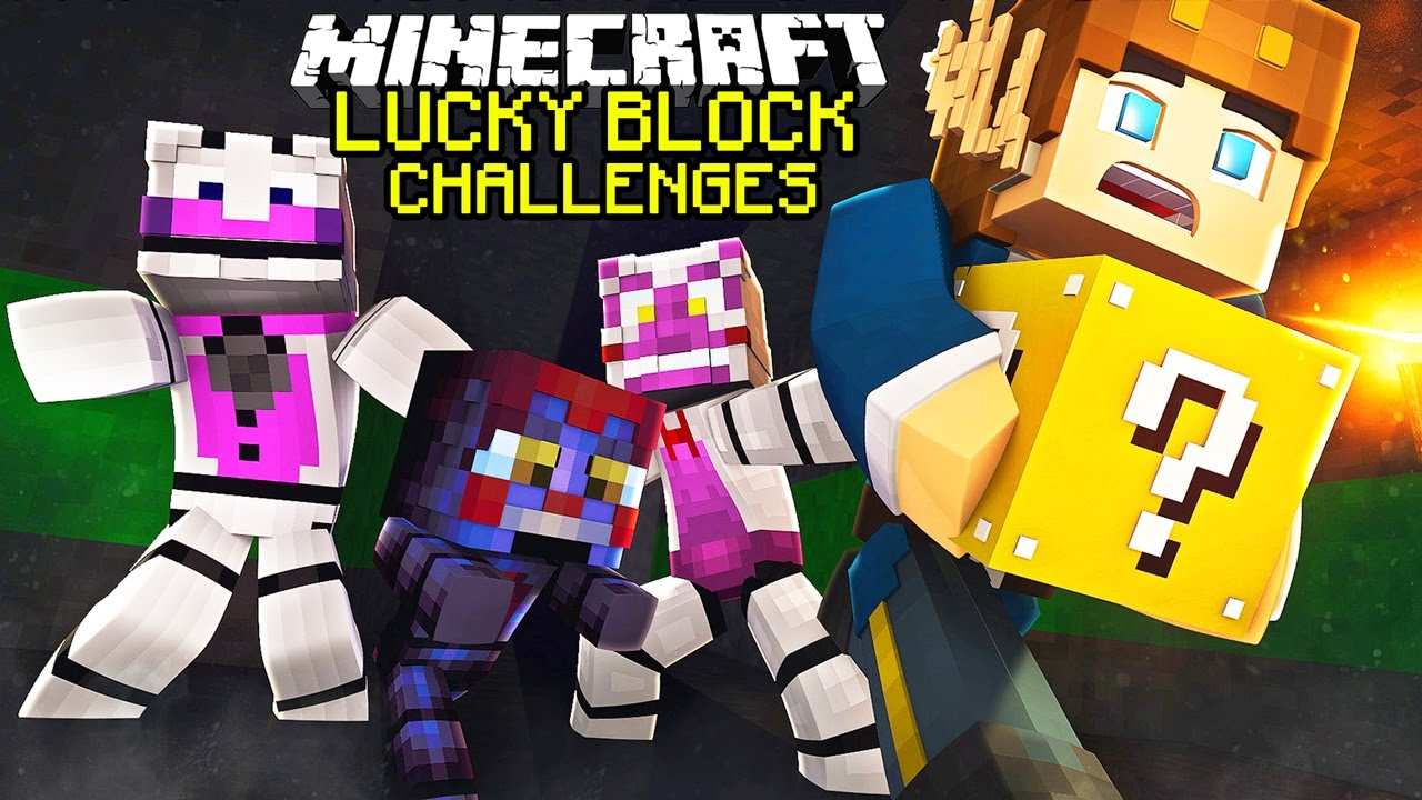 new lucky block challenges