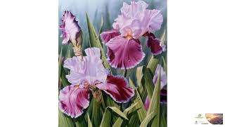 "Full Square Diamond Painting ""Beautiful flowers"" Embroidery Cross Stitch FREE SHIPPING!"