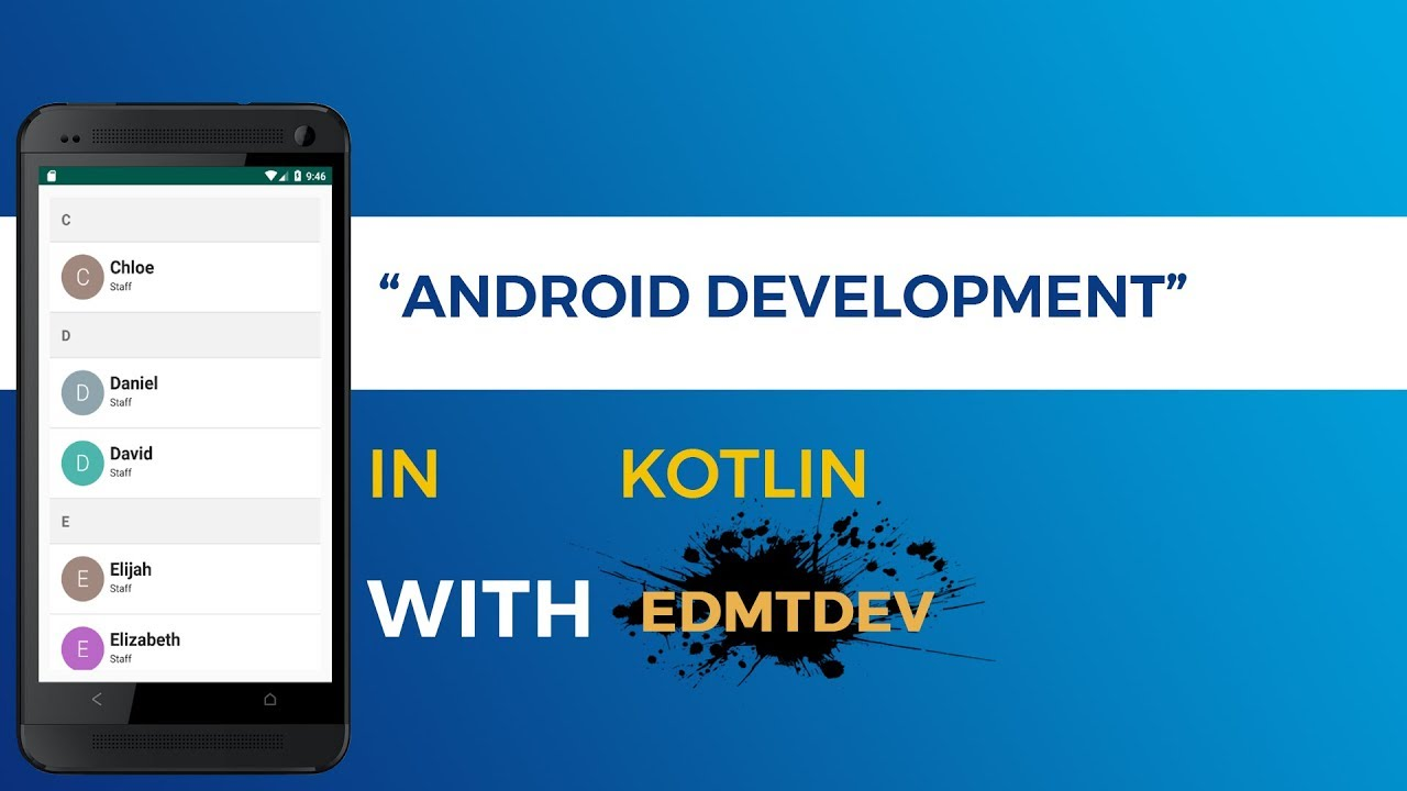 Kotlin Android Tutorial - Sticky Header Recycler View