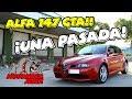 MOTOVLOG JEREZ   ALFA 147 GTA   HOY VAMOS DE COCHES