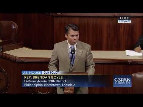 Congressman Boyle Calls for Bipartisan Gun Reform