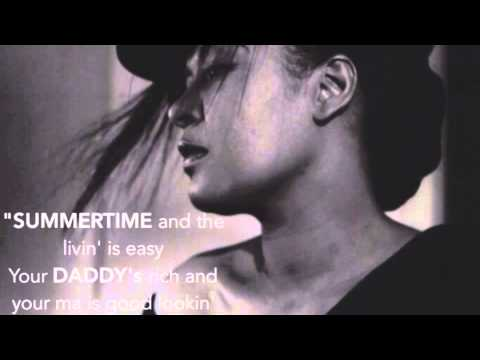 Ella Fitzgerald-Summertime-Angelina Jordan