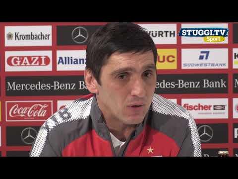 Wie VfB-Trainer Korkut beim Angstgegner FC Augsburg punkten will