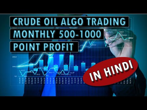 CRUDE OIL ALGO TRADING | Monthly 500-1000 POINT PROFIT |