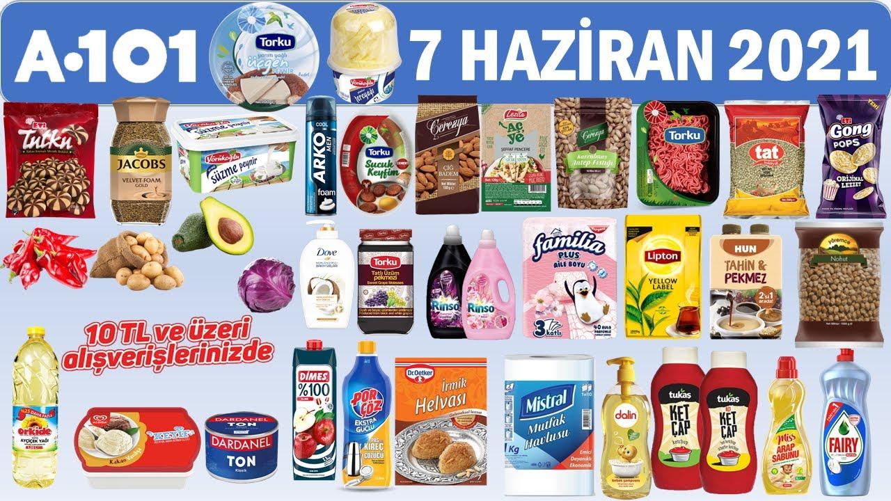 A101 7 Haziran 2021 Aktüel Market Kataloğu   Gıda ve Temizlik Ürünleri   Beklenen Katalog   a101