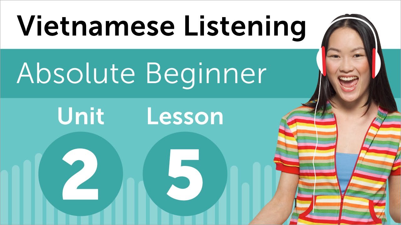 Vietnamese Listening Practice - Making Plans for the Day in Vietnamese