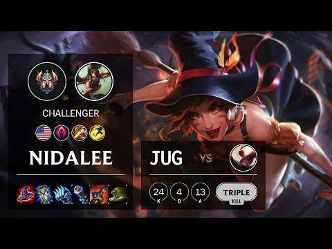 Nidalee Jungle Vs Lee Sin - NA Challenger Patch 10.11