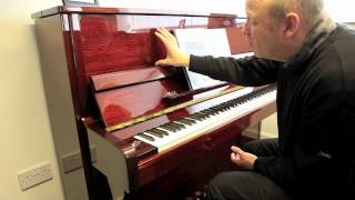 Hoffmann Tradition T122 Video Demonstation | Jones Pianos of Chester