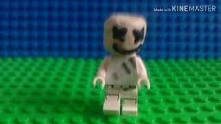 Lego Marhsmello peau en lego fortnite