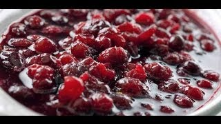 Sugar Free Cranberry Relish - Healthy Food - Diabetic Food - How To
