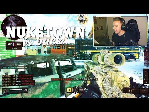 The RETURN of NUKETOWN!! (NEW Sniper Buff)