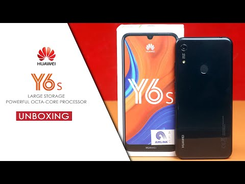 Huawei Y6S Unboxing & First Impression