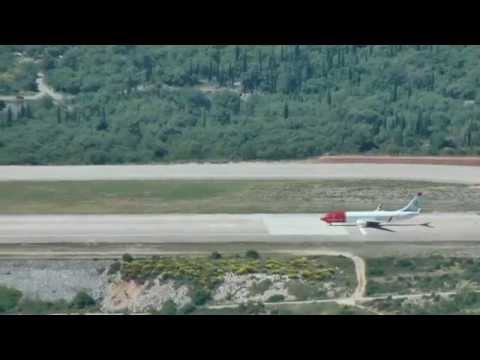 DUBROVNIK AIRPORT - landings and takeoff