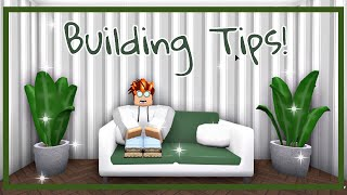 Roblox | Welcome To Bloxburg: Building Tips!