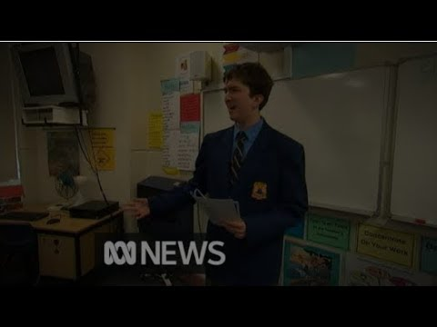 Canterbury Boys High School Literacy Achievements showcased on ABC National News, 16 November 2017
