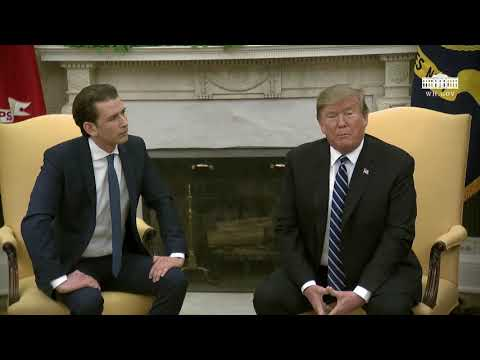 President Trump Meets with the Federal Chancellor of the Republic of Austria