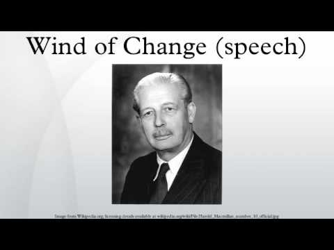 Wind of Change (speech)
