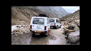 A Journey to Kaza Valley -  Crossed a wierd strech & away for Manali