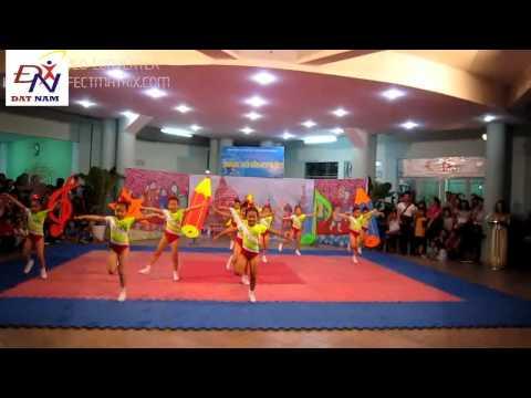 Aaerobic mầm non 2012 - quận 5 - mầm non Họa Mi 2