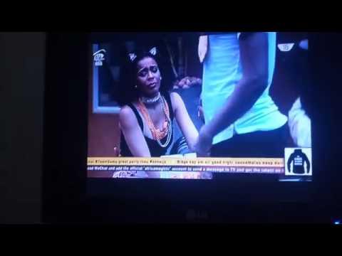 Download Tboss Kisses And Romances Miyonse As They Anticipate His Eviction - Big Brother Naija