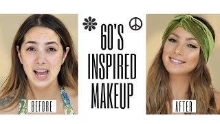 60s Inspired Cat Eye Makeup Tutorial