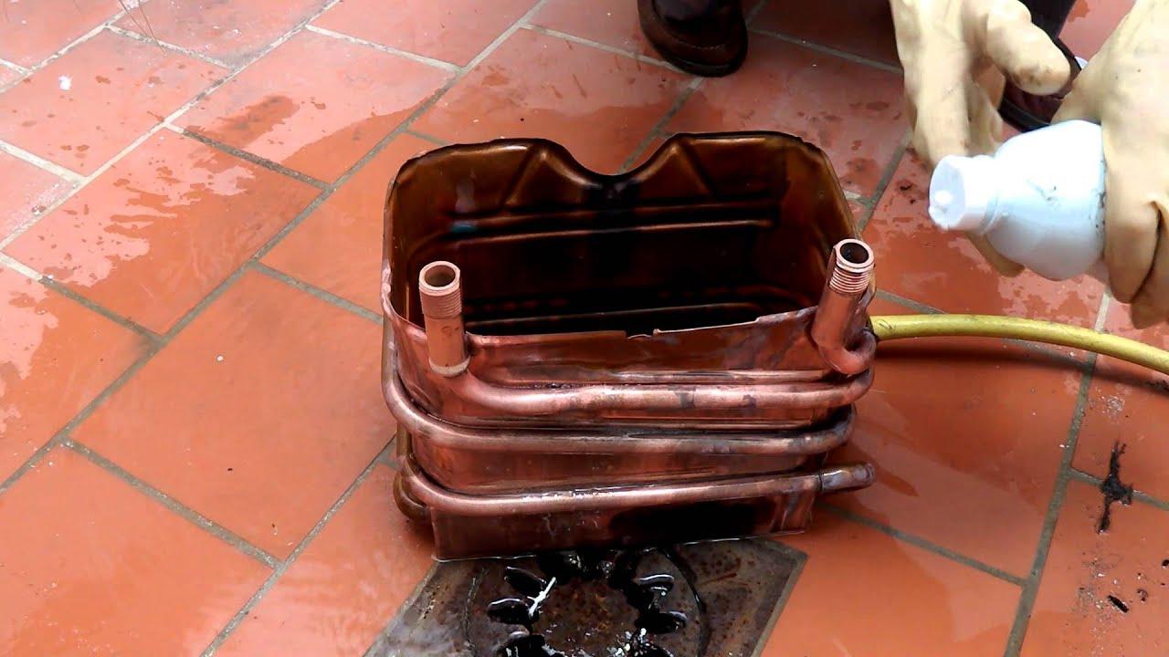 Boiler Clean With Hydrochloric Acid Limpieza De Un Calentador Con
