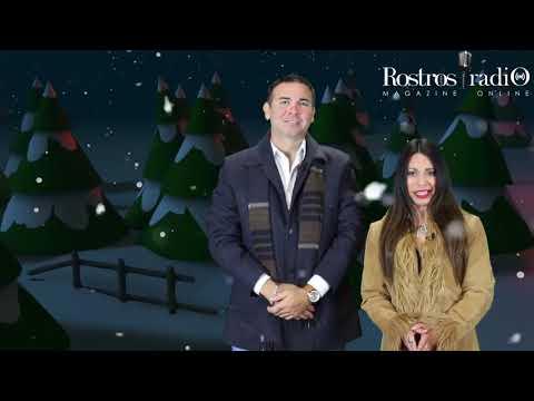 Feliz Navidad te desea Patty Rojas y Johnny Dillon - Rostros Latinos Radio