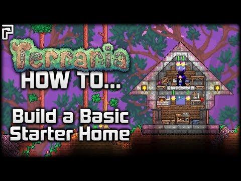 Terraria 1.3.1   How To... Make a Basic Starter House!