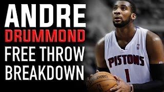 Andre Drummond Free Throw Breakdown: NBA Shooting Secrets