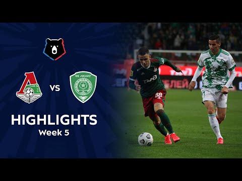 Lokomotiv Moscow Akhmat Grozny Goals And Highlights