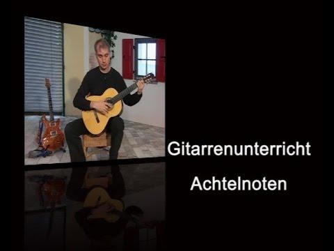 Gitarrenunterricht - Achtelnoten
