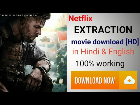 How To Download Extraction 2020 Movie In Hindi English Netflix Extraction Movie Download Youtube