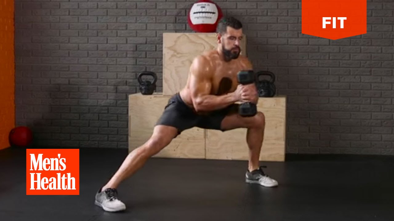 Density Doomsday total body Dumbbell Circuit Created by Men's Health