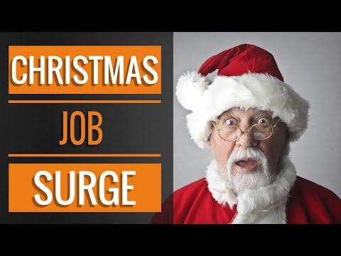 Christmas Job Surge | Employment Update