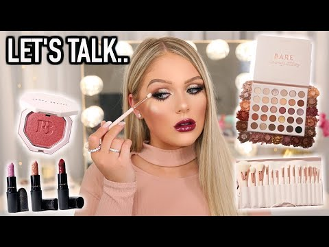 TESTING NEW MAKEUP | GET READY WITH ME (finally opening up) thumbnail