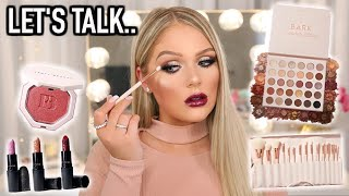 TESTING NEW MAKEUP | GET READY WITH ME (finally opening up)