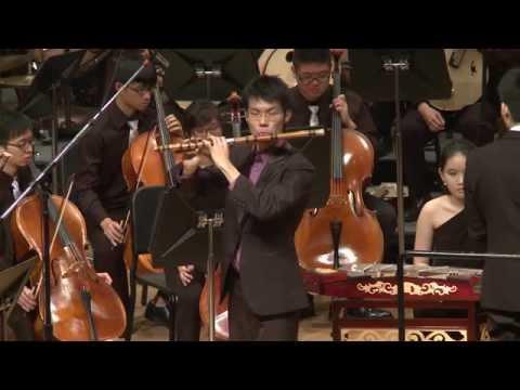 长恨绵绵 (笛子协奏曲) Eternal Anguish (Dizi Concerto) - Benjamin Ang 洪詠翔 and Raffles Alumni CO 2013