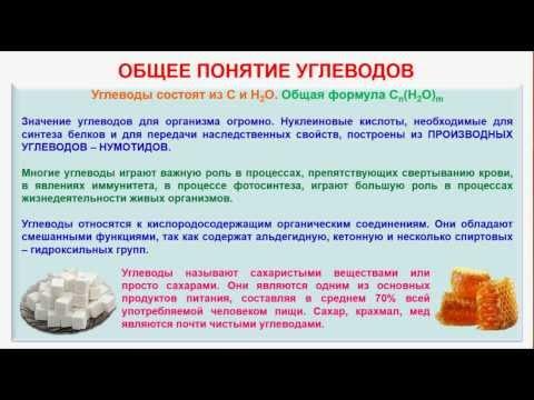 № 139. Органическая химия. Тема 21. Углеводы. Часть 13. Инверсия сахарозы