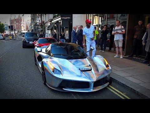 1 milliárdot érő Ferrarival ugrott le vásárolni a focista