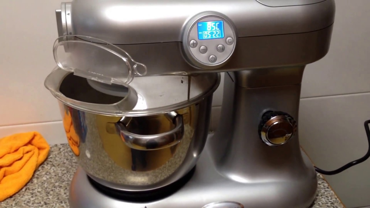 Clatronic lm3476 cook mix robot de cocina youtube - Robot cocina elite cook ...