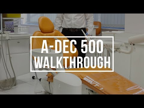 A-dec 500 Chair Walkthrough With Dan Payne , Henry Schein, & Justin Hind, A-dec Territory Manager