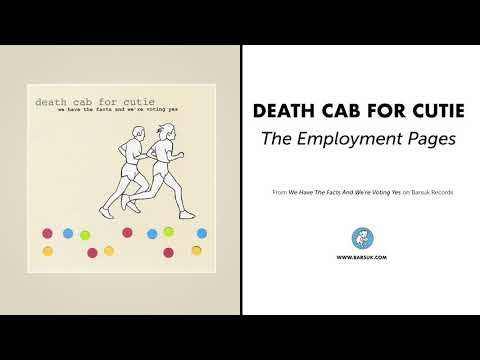 "Death Cab For Cutie - ""The Employment Pages"" (Official Audio)"